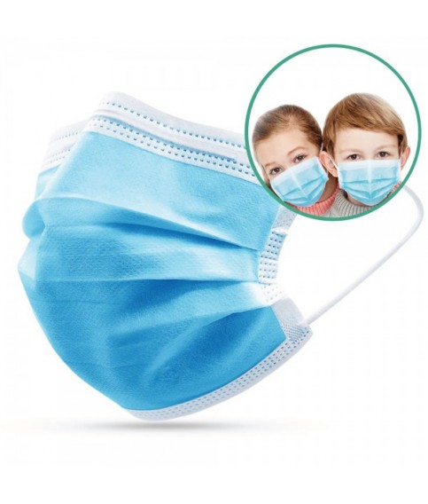 Disposable mask for children - ASTM level III 50 / box