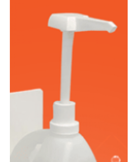 Manual pump for 4L bottle Disinfectant