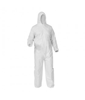 Disposable protective clothing with hood - 25/box