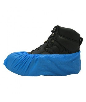 Shoe covers, non skid, blue Protection Equipment