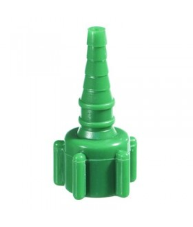 Oxygen adaptor - Oxy nut and nipple connector 50/box