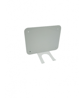 Universal AED holder with wall bracket