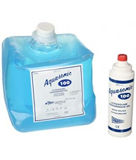 Aquasonic 100 ultrasound gel refill 5L & empty 250ml bottle Clinical/Infirmary