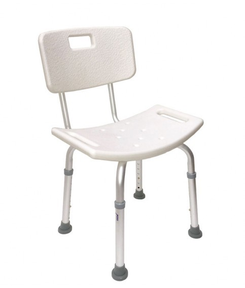 Bath Chair with Back Rest