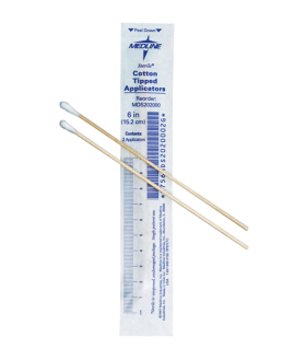 Sterilized cotton-tipped applicator - Pack of 100