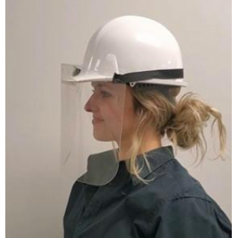 Protective Facial Visor for Helmet