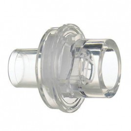 One-way valve and filter replacement for CPR pocket mask