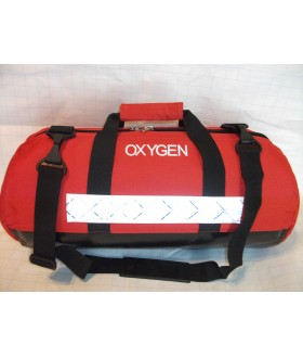 Carry Case for Oxygen Cylinder Type D or Jumbo D (Red) Dental Equipment