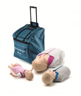 Laerdal Little Family Pack Manikins - adult, junior, infant