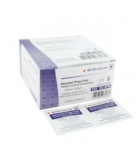 70% alcohol swabs - 200 / box
