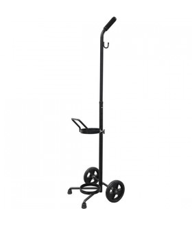 """Wheeled cart for """"D"""" or """"E"""" cylinders"""