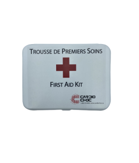 Small Compact First Aid Kit - Plastic