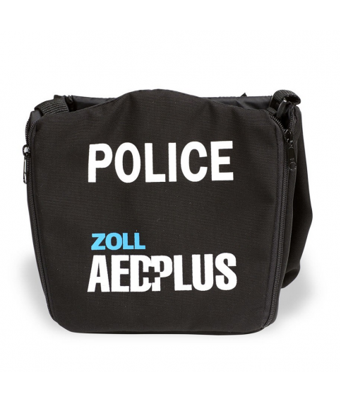 Carry Case (POLICE) - AED (Defibrillator) ZOLL AED Plus Accessories for LIFEPAK and Samaritan and Zoll