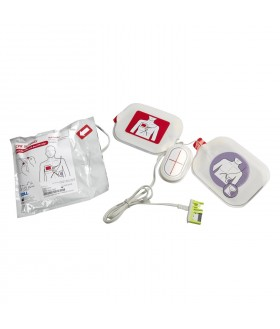 Electrodes (Adult) CPR Stat-Padz HVP Multi-Function - AED (Defibrillator) ZOLL AED Plus/AED Pro Accessories for LIFEPAK and Samaritan and Zoll