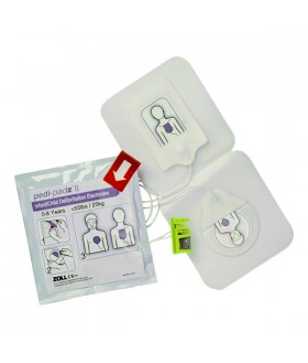 Electrodes (Pediatric) Multi-function Pedi-Padz II - AED (Defibrillator) ZOLL AED Plus/AED Pro Accessories for LIFEPAK and Samaritan and Zoll