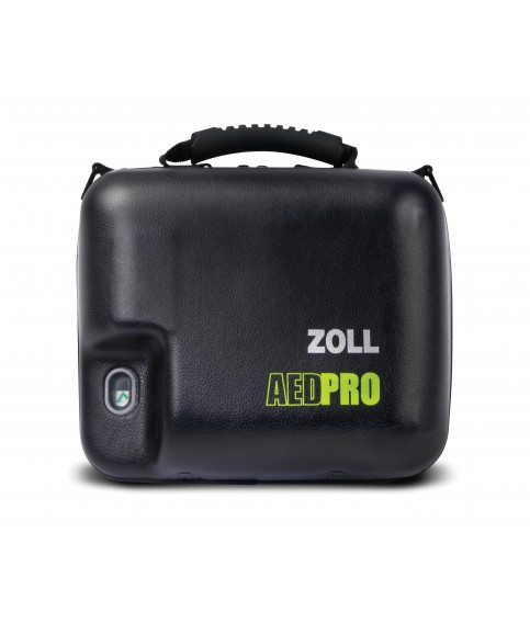 Molded Vinyl Carry Case - AED (Defibrillator) ZOLL AED Pro Accessories for LIFEPAK and Samaritan and Zoll