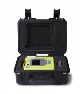 Small Rigid Plastic Case - AED (Defibrillator) ZOLL AED 3 Accessories for LIFEPAK and Samaritan and Zoll