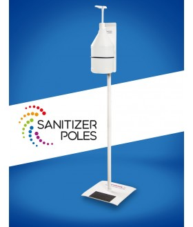 Hand washing station with 4L bracket Disinfectant