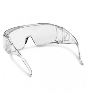 Visitor security glasses (wide temples), clear Protection Equipment