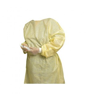 XL isolation gown yellow Disposable Clothing