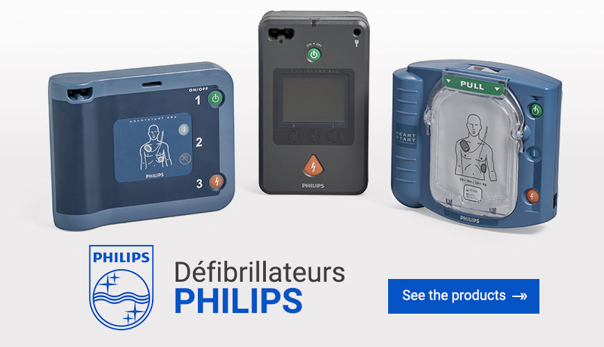 Défibrillateurs Philips