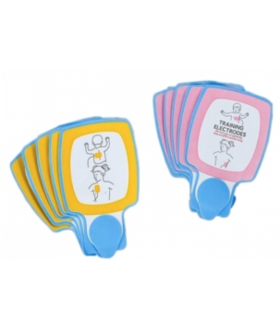 Replacement Infant/Child AED Training Electrodes (pk of 5) Training Equipment